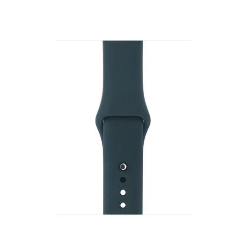 Ремінець для Apple Watch 38mm Sport Series 1:1 Original (Navy Blue)