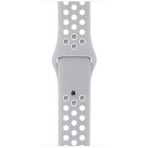 Ремінець для Apple Watch 38mm Nike Sport Series 1:1 Original (Grey-White)