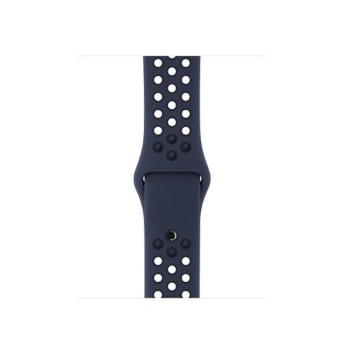 Ремінець для Apple Watch 38mm Nike Sport Series 1:1 Original (Obsidian-Black)