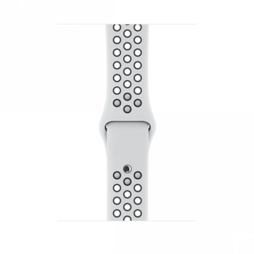 Ремінець для Apple Watch 38mm Nike Sport Series 1:1 Original (White-Black)