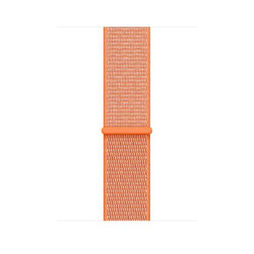 Ремінець для Apple Watch 38mm Sport Loop Series 1:1 Original (Spicy Orange)