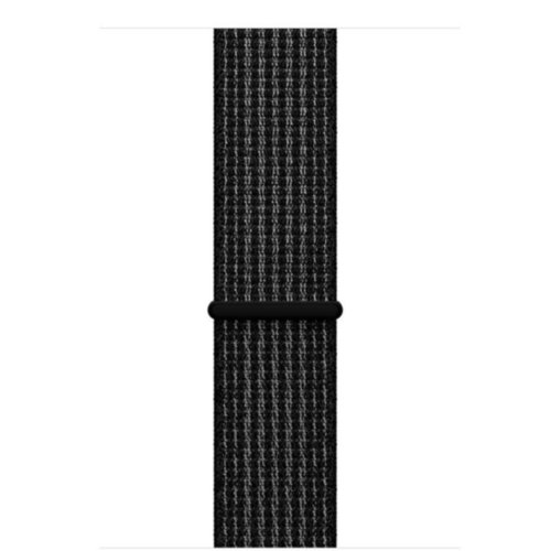Ремінець для Apple Watch 38mm Sport Loop Series 1:1 Original (Black-White)