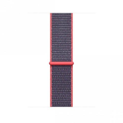 Ремінець для Apple Watch 38mm Sport Loop Series 1:1 Original (Electric Pink)