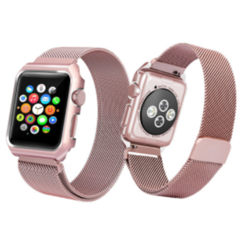 Ремінець для Apple Watch 42mm Milanes Series 1:1 Original (Pink)
