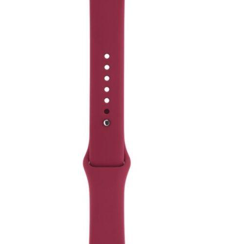 Ремінець для Apple Watch 42mm Sport Series 1:1 Original (Wine Red)