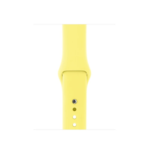 Ремінець для Apple Watch 42mm Sport Series 1:1 Original (Yellow)