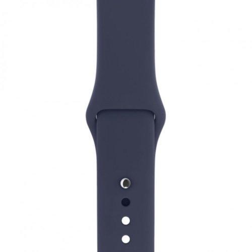 Ремінець для Apple Watch 42mm Sport Series 1:1 Original (Midnight Blue)