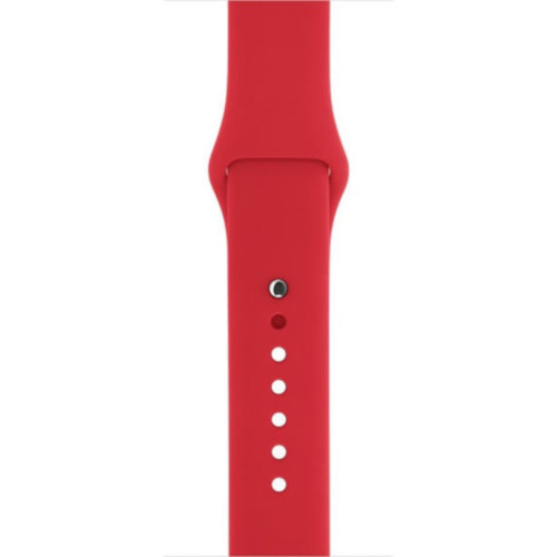Ремінець для Apple Watch 42mm Sport Series 1:1 Original (Red)