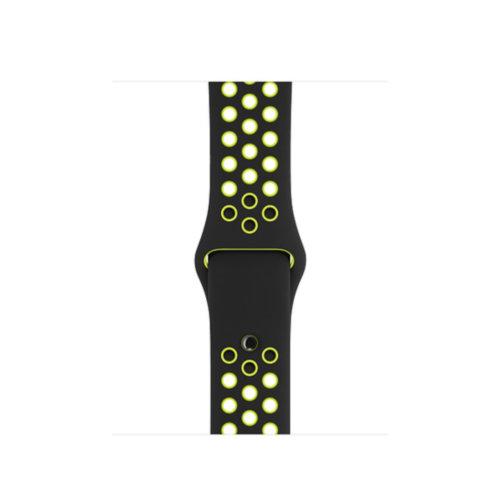Ремінець для Apple Watch 42mm Nike Sport Series 1:1 Original (Grey-Yellow)