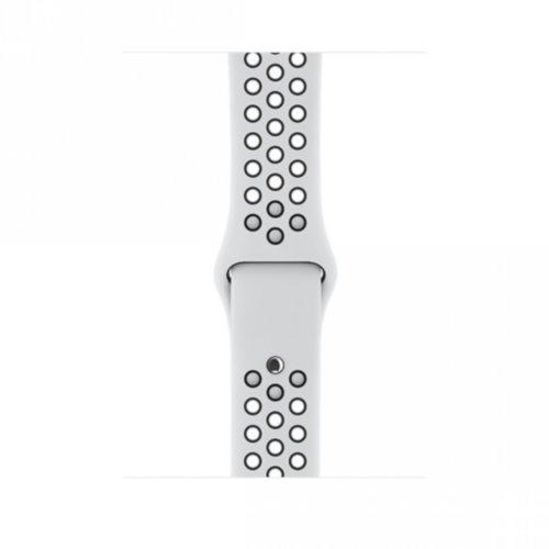 Ремінець для Apple Watch 42mm Nike Sport Series 1:1 Original (White-Black)
