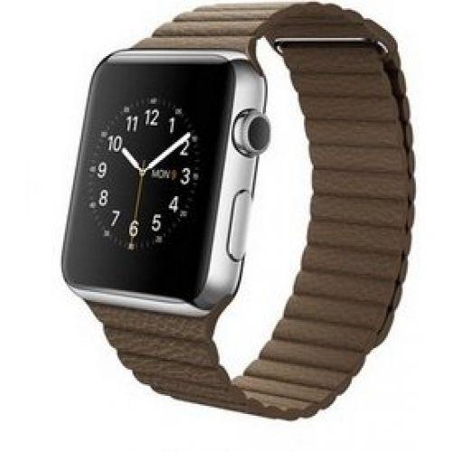 Ремінець для Apple Watch 42mm Leather Loop Series 1:1 Original (Brown)