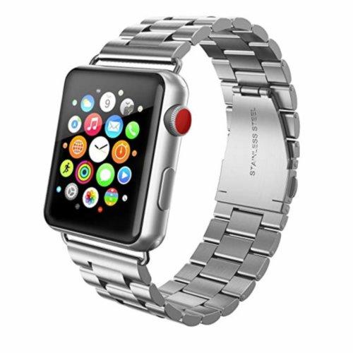 Ремінець для Apple Watch 42mm Stainless Steel Series 1:1 Original (Silver)