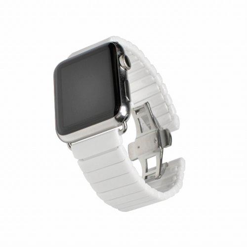 Ремінець для Apple Watch 42mm Ceram Series (White)