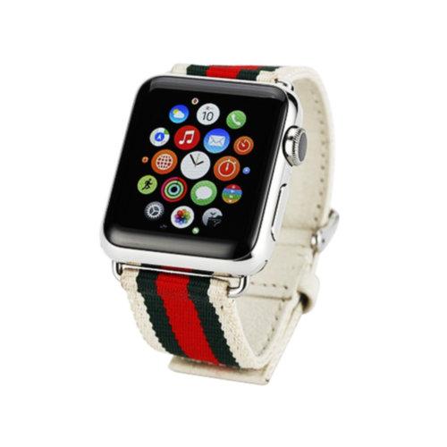 Ремінець для Apple Watch 42mm Woven Leather Series (White)