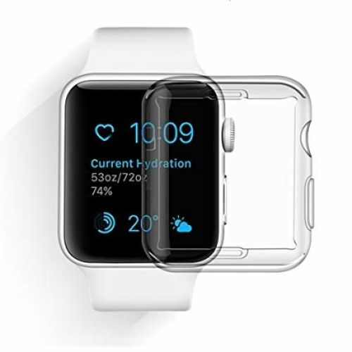 Чохол Devia для Apple Watch 2/3 38mm Smart Case Series (Transparent)